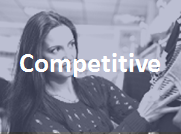 Competitive: Benchmark sales and service behaviors against key competitors.